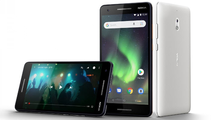 Nokia 2.1: Modified long-lasting performance