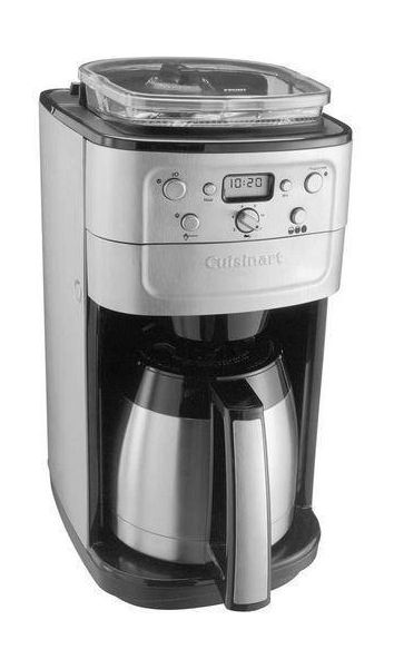 Coffee Maker Xcite : Cuisinart Coffee Maker With Grinder (CA-DGB900BCE) Silver xcite.com Xcite Kuwait
