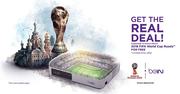 Watch FIFA 2018 World Cup LIVE