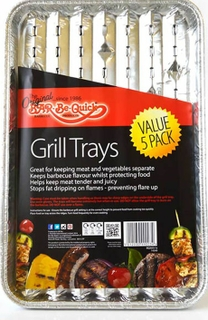 Foil Grill Trays