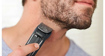 Metal Trimmer Trims Beard, Hair And Body