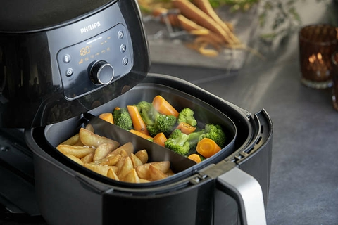 Our most powerful Airfryer for faster cooking results