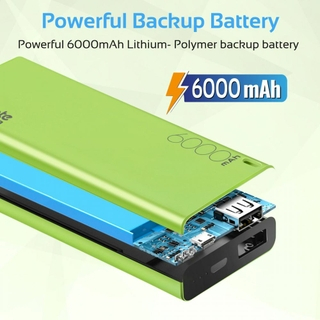 Impressive 6000mah Can Fully-charge Your Devices