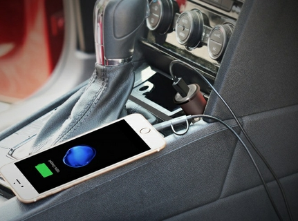 Ultra-Small Qualcomm QC3.0 Car Charger