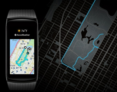 On-device GPS Mapping