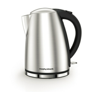 Accents Brushed Jug Kettle