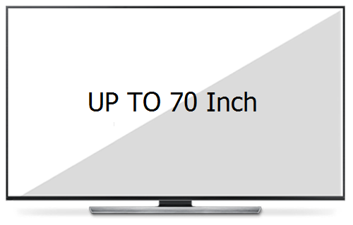 Holds Up to 70 Inches TV