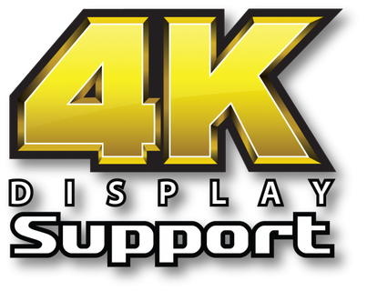 Supports 4K Resolution