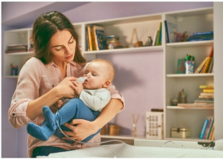 Safe And Gentle Solution To A Blocked Nose In Babies