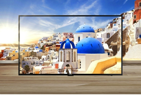 4K LCD TV with Smart Internet Connectivity