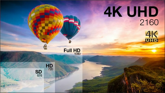 Real 4K Ultra HD